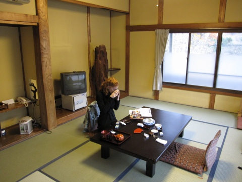 Tea at the ryokan